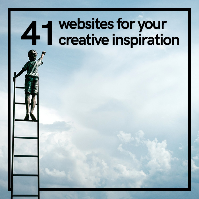 41 websites for your creative inspiration